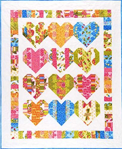 (Heartstrings Quilt Pattern Designed by Gail Yakos for Black Mountain Needleworks)