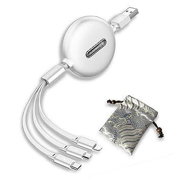 Myconvoy Cable de Expansión USB,Moda USB Cable 3 en 1 ...