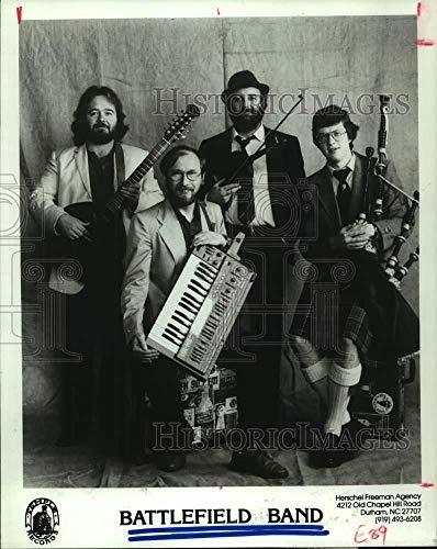 1986 Press Photo The Battlefield Band - Scottish folk music - hcp08284