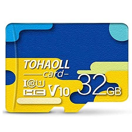 Fishyu Tarjeta de Memoria 128GB/64GB/32GB U3 80MB/S Micro SD ...