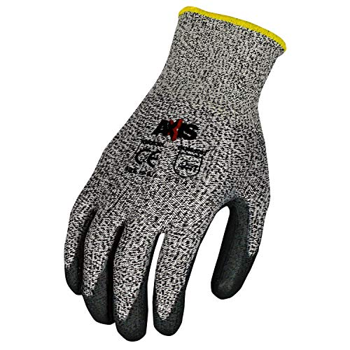 Radians RWG555L Axis Cut Protection Level 4 Work Glove (12 per Pack), Large by Radians (Image #1)