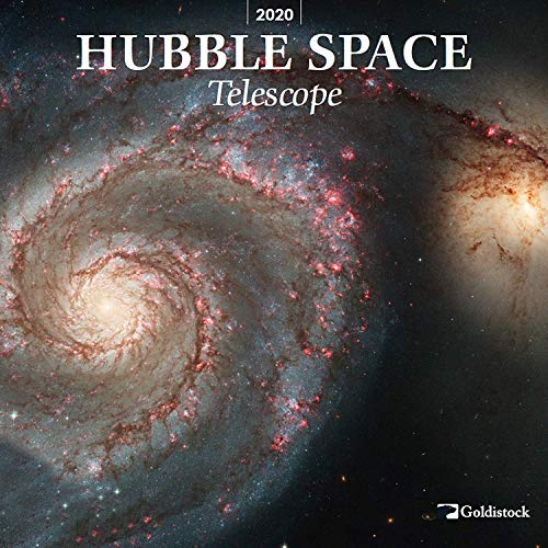 """Goldistock 2020 Large Wall Calendar -""""Hubble Space Telescope"""" - 12"""" x 24"""" (Open) - Thick & Sturdy Paper - - Expand Your World & Your Mind"""