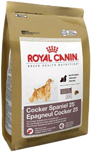 Royal Canin Dry Dog Food, Medium Cocker Spaniel 25 Formula, 25-Pound Bag, My Pet Supplies