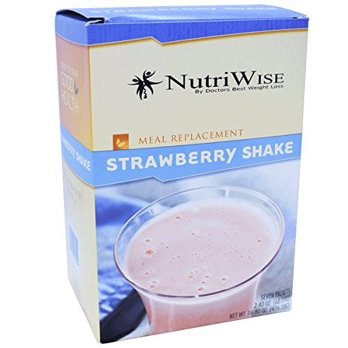 NutriWise – Strawberry Meal Replacement High Protein Shake (7/box) For Sale