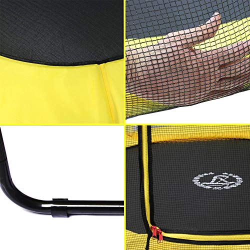 LANGXUN Outdoor Indoor Trampoline net Safety Mat Cover Gifts for Kids, Boy