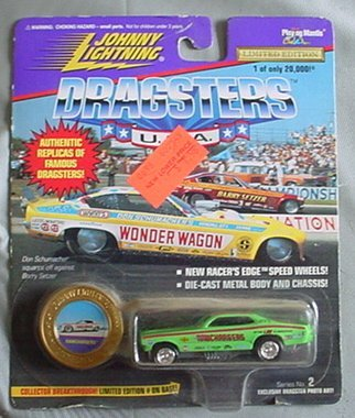 Johnny Lightning Dragsters USA Series 2 Ramchargers Ram Chargers Grün by Johnny Lightning