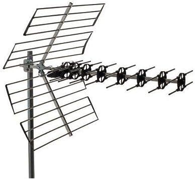 Antena UHF MX, Canales 21/60, G=15 dB: Amazon.es: Electrónica