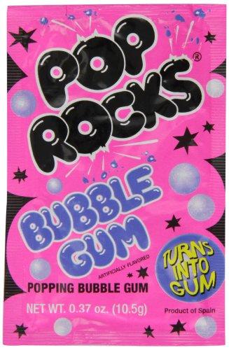 Pop Rocks Bubblegum Candies 9.5 g (Pack of 8)