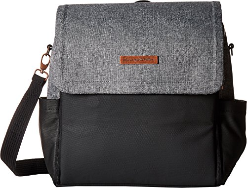 - petunia pickle bottom Women's Glazed Color Block Boxy Backpack Graphite/Black One Size