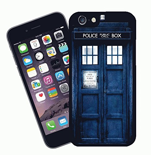 Dr Who Tardis - This cover will fit Apple model iPhone 7 (not 7 plus) - By Eclipse Gift Ideas