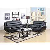 Amazon Com Global Furniture Rogers Collection Bonded
