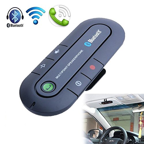 sun visor bluetooth speakerphone - 4