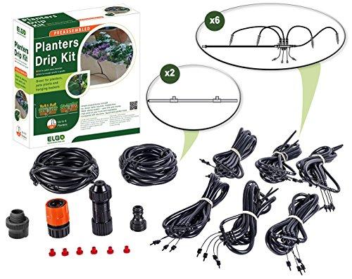 ELGO Planters Drip Kit - 24 Dripper