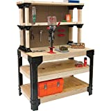 Garage Workbench,Workbench With Storage,Workbench Brackets,Tool Workbench,2x4 Basics AnySize & EBOOK AWESOME HOME DECOR IDEAS.