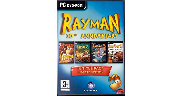 Ubisoft Rayman 10th Anniversary, PC - Juego (PC): Amazon.es ...