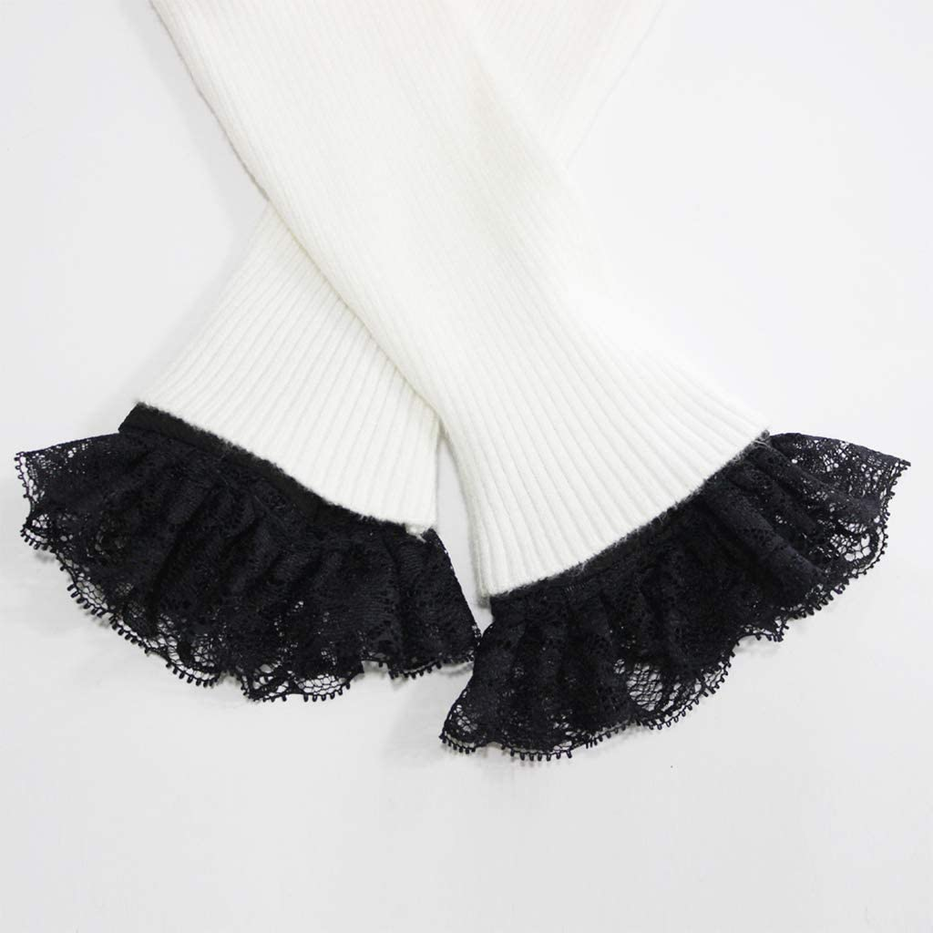 Manschette Knopf Stulpen Handgelenk Pullover Bekleidungszubeh/ör Lunji Armstulpen Pulsw/ärmer Damen Abnehmbarer Spitze