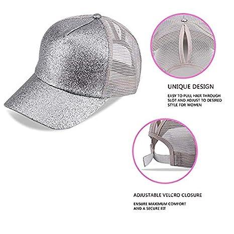 LaoJi Iowa State Seal Ponytail Messy High Bun Hat Ponycaps Plain Baseball  Visor Cap at Amazon Men s Clothing store  00c23702bc54