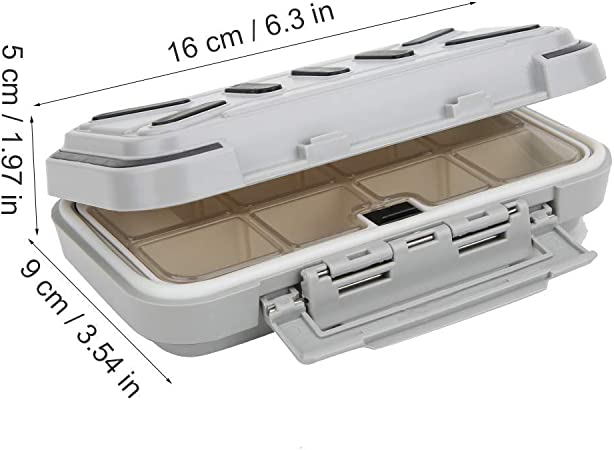 ABS Fishing Hook Tools Tackle Mini Storage Holder Box Case Water-proof New