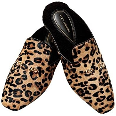 edde8985409b Amazon.com | Derek Lam Slipper - LEOPARD - Small | Slippers