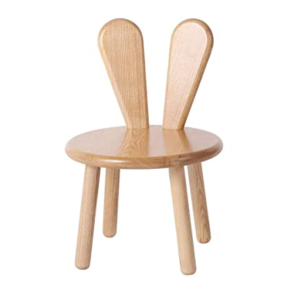 Tremendous Amazon Com Chairs Solid Wood Stool Cartoon Wooden Stool Short Links Chair Design For Home Short Linksinfo