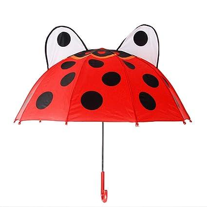 JIANG Paraguas para niños Paraguas para Hombres y Mujeres ...
