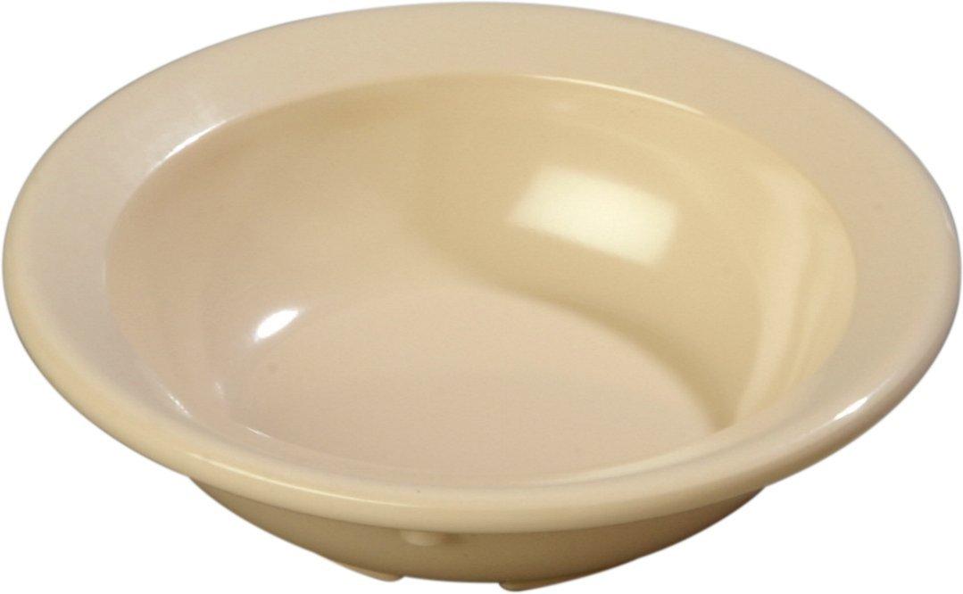 Carlisle 4353225 Melamine Fruit Bowls, 3-1/2 oz., Tan,  (Set of 48)