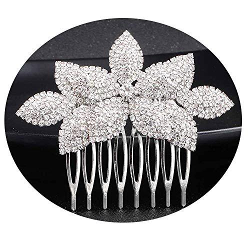 Full Austrian Crystal Hair Combs Fashion Wedding Hair Jewelry Women Hair Clips Bridal Hairpins