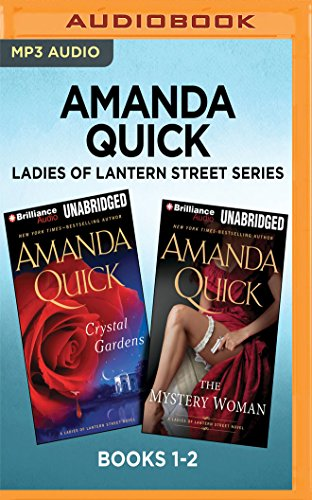 Amanda Quick Ladies of Lantern Street Series: Books 1-2: Crystal Gardens & The Mystery Woman