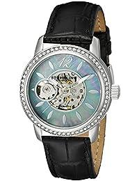Women's 856.02 Delphi Analog Display Automatic Self Wind Black Watch