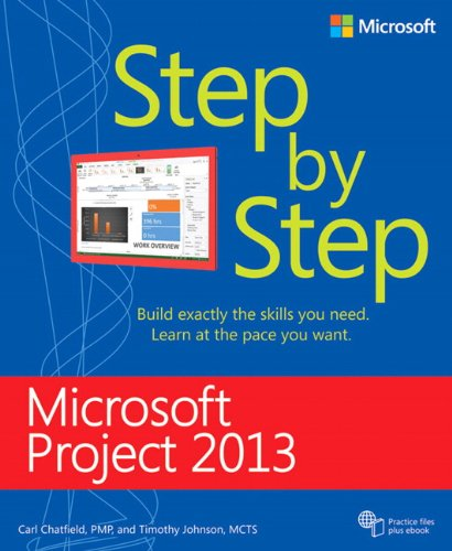 Microsoft Project 2013 Step by Step by Microsoft Press