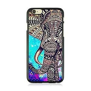 WQQ el patrón de las venas de cuero de elefante abstracto caso duro para el iphone 6 más