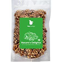 Nut Cravings California Raw Walnuts – 100% All Natural Shelled Halves and Pieces – 1LB