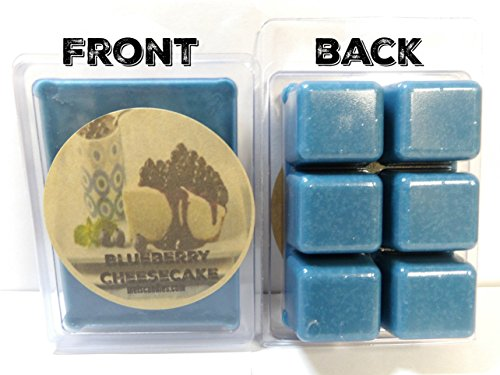 Blueberry Cheesecake -3.2 Ounce Pack of Soy Wax Tarts - Scent Brick, Wickless Candle