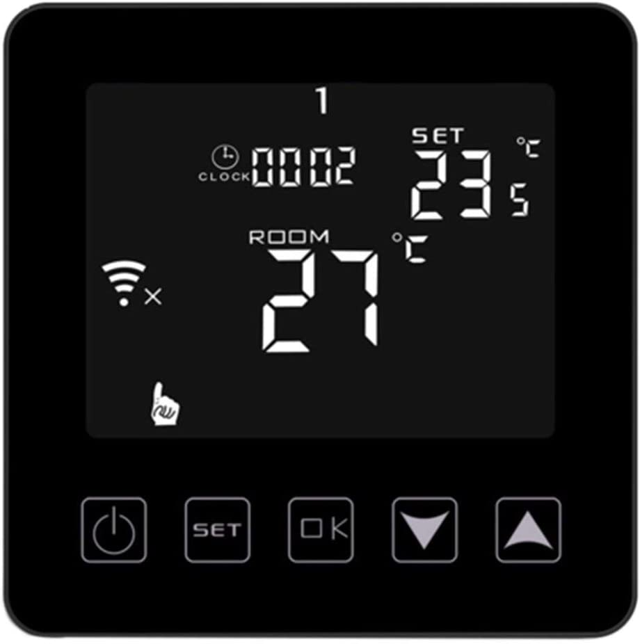 MXECO HY03WW-4 Wifi Casa Calefacción Gas Combi Caldera Chimenea Termostato Control inteligente de temperatura