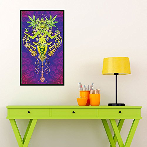 My Wonderful Walls Cannabis Graphic Art Sacred Smoke by Cristina McAllister (M)