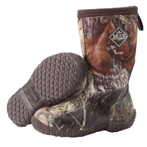 Muck Boots Kids Fieldblazer II Mossy Oak Break Up Boot - Youth's 6 by Muck Boot