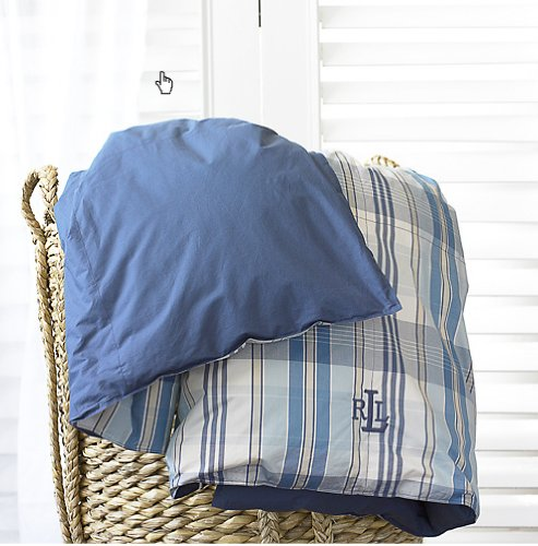 Ralph Lauren Sundeck Plaid Down Alternative Comforter Twin
