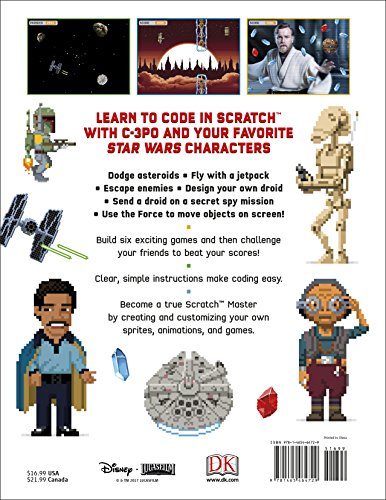 Star Wars Coding Projects: A Step-by-Step Visual Guide to Coding Your Own Animations, Games, Simulations an by DK Children (Image #1)