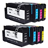 Oyat Ink Compatible Replacement for HP 950 XL 951 XL Ink Cartridges. One set works with HP OfficeJet Pro 8600, 8610, 8620, 8630, 8640, 8615, 8625, 251DW,271DW Printers.(4 Black,2 Cyan, 2 Magenta,2 Yellow),10 packs