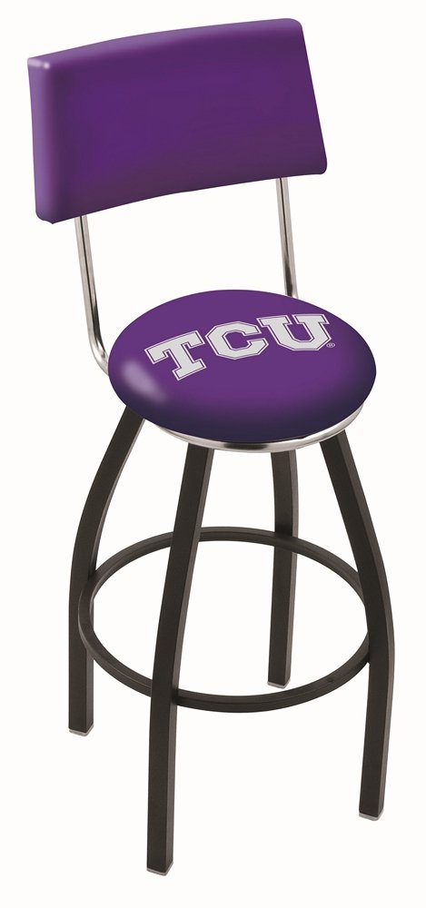 Holland Bar Stool L8B4 Texas Christian University Swivel Bar Stool, 30'' by Holland Bar Stool Co.