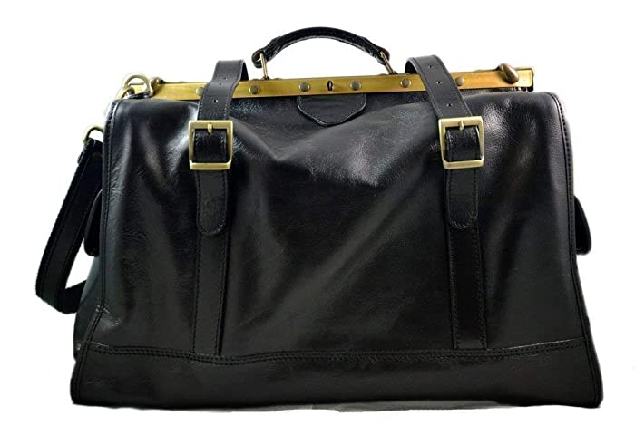 Bolso de viaje de cuero doctor bag bolso doctor en piel ...