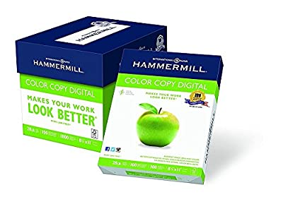 Hammermill Paper, Color Copy Digital, 28lb, 8.5 x 11, Letter, 100 Bright