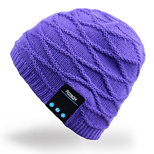 Mydeal Rechargeable Bluetooth Audio Beanie Fashional Doub...