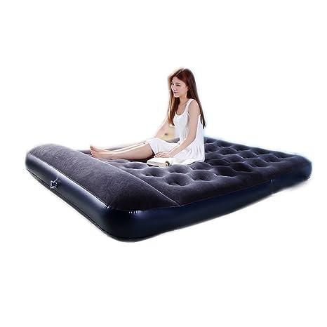 sheng Camuflaje colchones inflables casa doble edredón cama al aire libre portátil aire cama tienda de