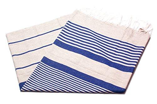 Toalla Fouta, tamaño extra grande XXL (197 x 100 cm), 100 % algodón de Túnez, para sauna, baño turco, toalla de playa, para baño, picnic, yoga, ...