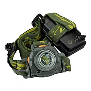 OxyLED MH20 200 Lumen LED Motion Sensing Headlamp Headlight Flashlight, Bright Compact Light Weight