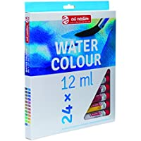 Royal Talens Art Creation Watercolor Set of 24 size 12ml Tubes for Beginners, Artists and Professionals