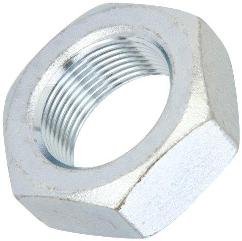 (Steel Hex Jam Nut, Zinc Plated Finish, Grade 5, ASME B18.2.2, 5/16