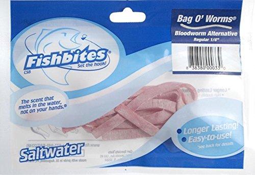 Fishbites Bloodworms Fishing Bait .25