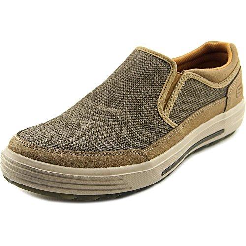 Skechers Porter Vesco Mens Slip On Loafers Light Brown (Air Penny Moc)